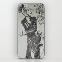 tank girl iPhone & iPod Skins featuring Tank Girl by Sofamermaid