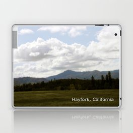 Cloudy Day in the Country... Laptop & iPad Skin