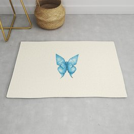 Paper Butterfly Rug
