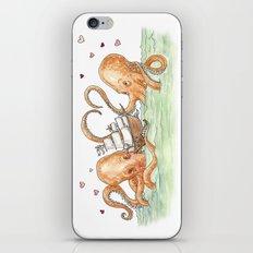 Octopus Valentine  iPhone & iPod Skin