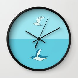 Fly in your own sky Wall Clock
