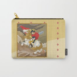 Napoleon Crossing the Alps by  Jacques-Louis David  Carry-All Pouch