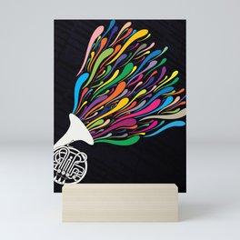French Horn Mini Art Print