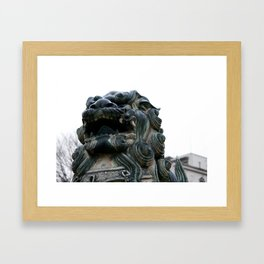 SHITENNOJI, OSAKA Framed Art Print