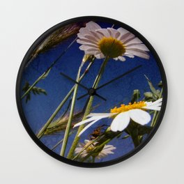 A BUG'S VIEW Wall Clock