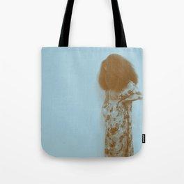 Afro Retro Moments Pale Aqua Tote Bag