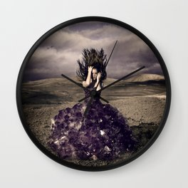 Attached to earth Wall Clock