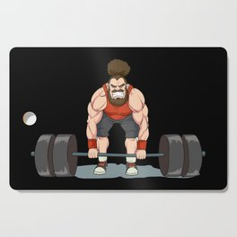 Weightlifting   Fitness Workout Cutting Board