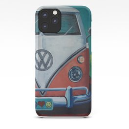'Bohemian Dream' Hippie Van Art V W Van art, V W bus art iPhone Case
