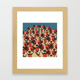 bella bella Framed Art Print