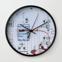 Synergy Scheme Wall Clock