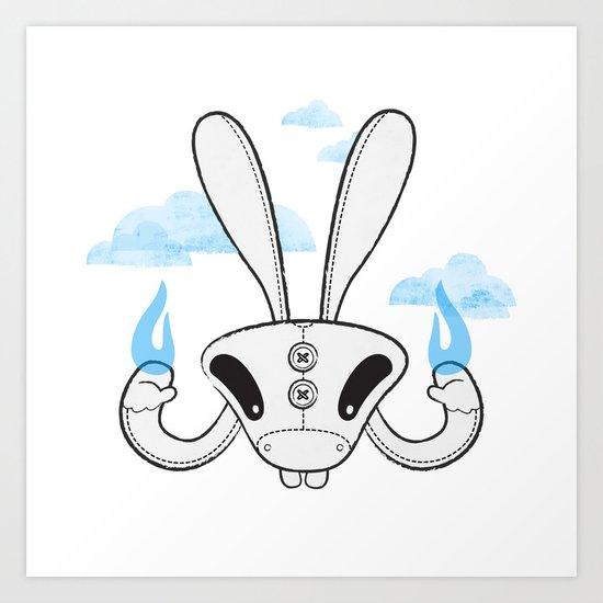 Rabbite Art Print