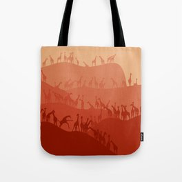 The Giraffe Hills Tote Bag