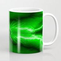 helen green Mugs featuring Eye Green by NatalieCatLee