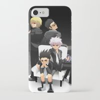 hunter x hunter iPhone & iPod Cases featuring Hunter x Hunter: Mafia by akayashi