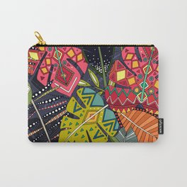 boho hojas midnight Carry-All Pouch