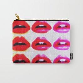 Pop Art Lips Carry-All Pouch