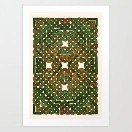 Celtic Forest Art Print