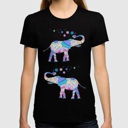 Henna Mandala Luck Elephant T-shirt