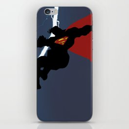 Supes Knight Returns iPhone Skin