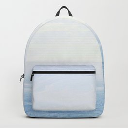 The Sea on a Sunny Day Backpack