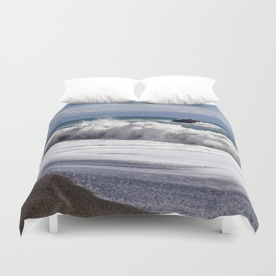 WAVES EASTCOAST SICILY Duvet Cover