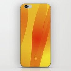 Molten Flow iPhone Skin