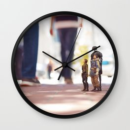 This Mission Is Bigger Than Us Wall Clock