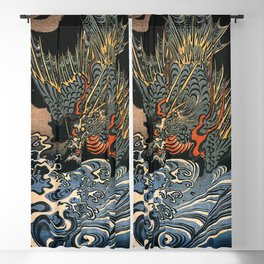 Sea-Dragon, Utagawa Kuniyoshi Blackout Curtain