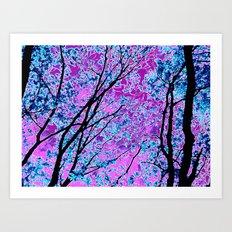 Crystalline Grove Art Print