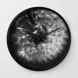 Dandy Dandelion Wall Clock
