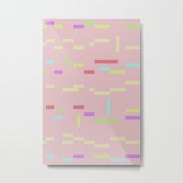 PIRX III (color version) Metal Print