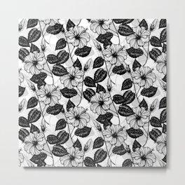 Hibiscus garden Metal Print