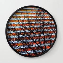 Stripe Resistance Wall Clock