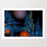 underwater Art Prints featuring Underwater by LoRo  Art & Pictures