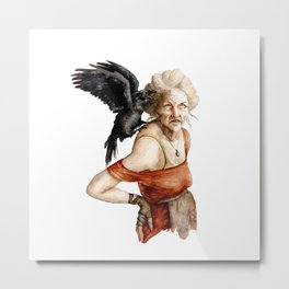 Agata the witch Metal Print