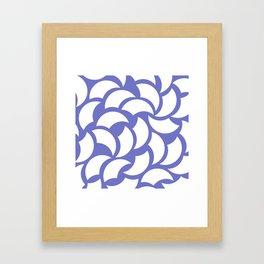 Billows Framed Art Print