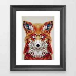"""Firefox"" by Giulio Rossi Framed Art Print"