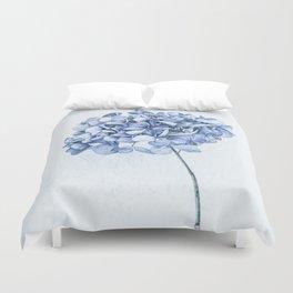 Hydrangea Blue 2 Duvet Cover