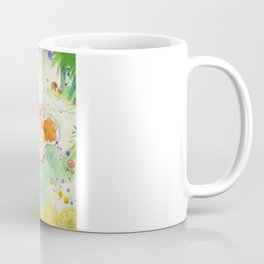 Mushroom hunt_panorama Coffee Mug