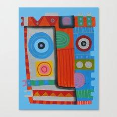 Your self portrait Canvas Print