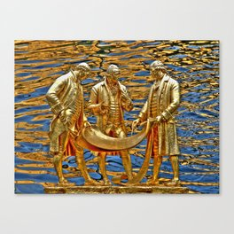 The Golden Boys Canvas Print