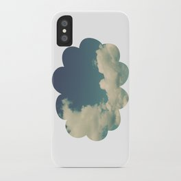 Puffy Cloud iPhone Case