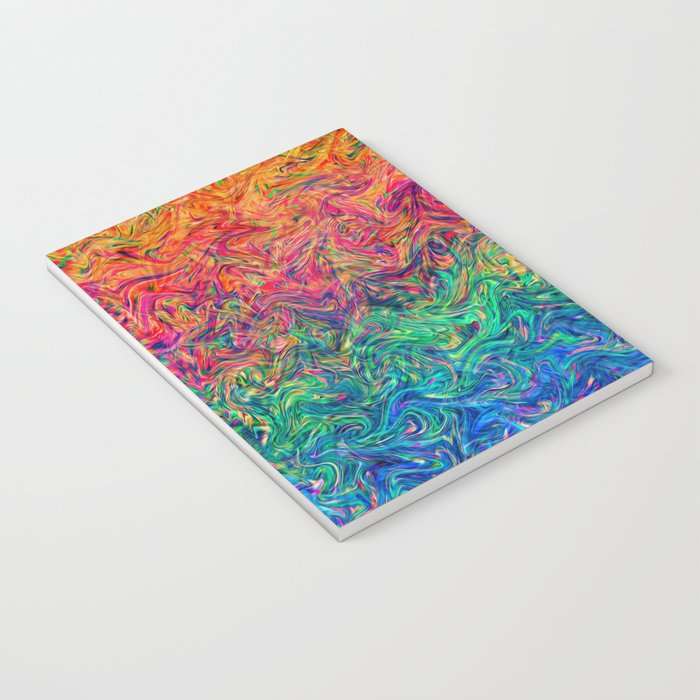 Fluid Colors G249 Notebook