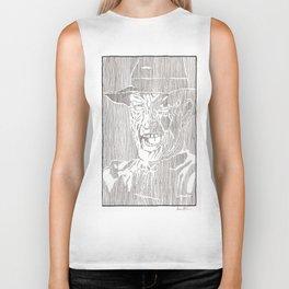 Freddy Krueger by Aaron Bir Biker Tank