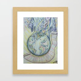 Dreams and Destiny Framed Art Print