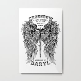 Crossbow Metal Print