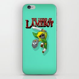 The Legend of LAMEBOT iPhone Skin