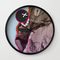 disco Wall Clocks featuring Disco by cocktu
