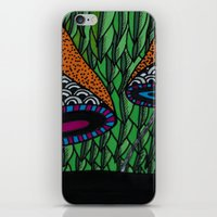 lv iPhone & iPod Skins featuring Cogumelo LV by Carolina Delleteze
